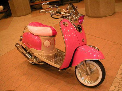 150cc Scooter Pink For Example a Pink Scooter May